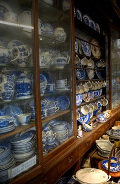 Josie's junk shop in Bempton feels like stepping through a time machine into a mish mash of eras past. Huge cabinets stand wall to wall storing old china sets. A sign reads 'All Damages Must Be Paid For.' ©Ryan Learoyd All Rights Reserved