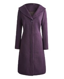 Claire Richards Exaggerated Collar Coat