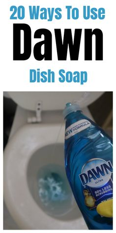 20 Ways To Use Dawn Dish Soap Dawn dish soap household and cleaning tips, tricks, and hacks. 20 Ways To Use Dawn Dish Soap Dawn dish soap household and cleaning tips, tricks, and hacks.
