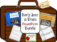 This bundle of PowerPoints will take you and your students through music and music history activities that cover early jazz and blues from the 1910's through the 1920's.  Bundle includes all of these individual products: Louis Armstrong New Orleans Jazz P