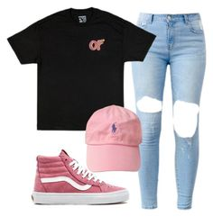 """""""Ofwgkta"""" by shyannelove123 ❤ liked on Polyvore featuring Vans and ODD FUTURE"""