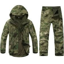 Cheap hunting tad, Buy Quality paintball paintballs directly from China paintball airsoft Suppliers: Hunting TAD Clothes Gear Soft Shell Camouflage Tactical Jacket Set Army Waterproof Coat Military Jacket Pants Airsoft Paintball Hunting Camouflage, Camouflage Jacket, Military Camouflage, Camouflage Clothing, Sniper Camouflage, Camo Jacket, Waterproof Hooded Jacket, Waterproof Coat, Hunting Jackets