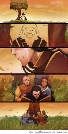 Goodbye Uncle Iroh<<< no.... Go sit in the corner and think about what you have done...