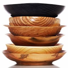 Bronx based woodworker Ivan Braun makes hand turned bowls and vases out of fallen wood that we give him from the Garden. Each piece is one of a kind, signed, and dated.