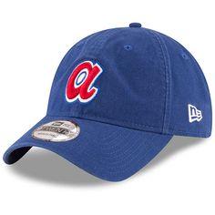 online retailer c9f26 6cbea Atlanta Braves New Era Cooperstown Collection Core Classic Replica 9TWENTY Adjustable  Hat - Royal Atlanta Braves