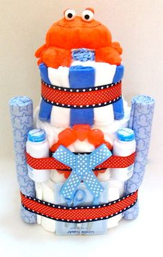 Unique Baby Shower Gifts Cakes Diaper Bakery Boy