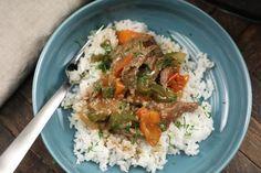Crockpot Pepper Steak