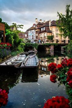 Colmar ~ First visit to France, we went here. Stayed on the canal. They call it Little Venice or something.