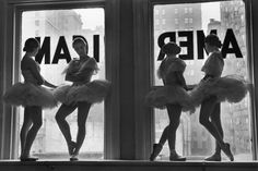 Scene at the School of American Ballet, New York, 1936: http://ti.me/11T5j3p (Alfred Eisenstaedt—Time & Life Pictures/Getty Images)