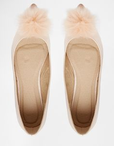 Image 3 of ASOS LILLE Co-ord Pointed Ballet Flats