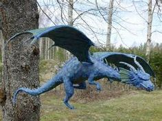 Blue Paper Mache Dragons - - Yahoo Image Search Results