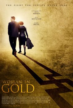 """Woman in Gold Movie Review from @kan who says she """"really enjoyed it. It has not soared at the box office and has not been given super ratings by the critics, but hubby and I liked it. Most of the time we don't agree with the critics."""""""