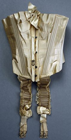 Corset  Stern Brothers, New York  (American, founded 1867)  Date: 1900–1905