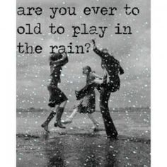 I want it to rain.