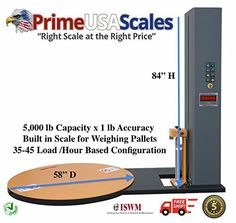 Wrapping Machine Pallet Wrapper Automatic Scale 5,000 lb
