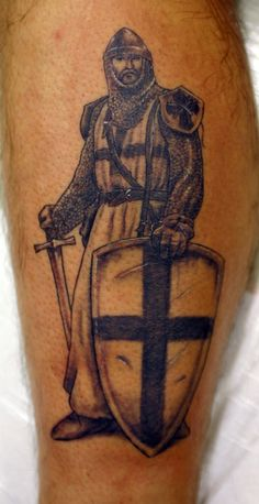 Learn about knight tattoo designs and meanings, and get some ideas for your own! This article includes numerous photos of knight-related tattoos for inspiration. Music Tattoos, Dog Tattoos, Tattoos For Guys, Tatoos, Wrist Tattoos, Flower Tattoos, Tattoo Designs And Meanings, Tattoos With Meaning, Tattoo Meanings