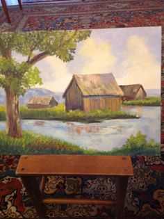 Paesaggio dipinto da me Painting, Art, Paint, Painting Art, Paintings, Kunst, Draw, Art Education, Artworks