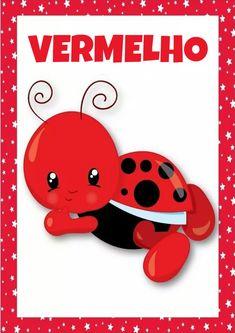 Material de apoio: Cartazes das Cores para imprimir - Espaço Educar Montessori Activities, Toddler Activities, Teaching Strategies Gold, School Labels, Preschool At Home, Math Worksheets, Kids Education, Classroom, Download