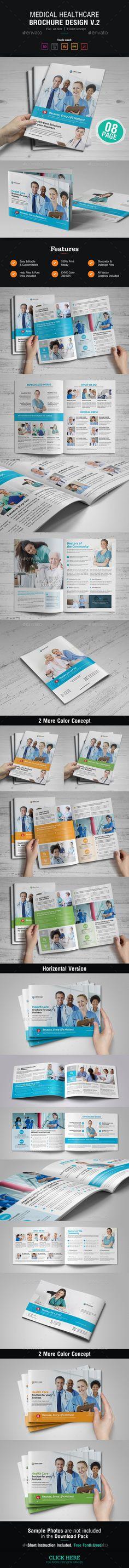Company Profile Company profile, Template and Brochure template - healthcare brochure