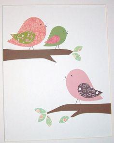 The softer side of pink-Baby Girl Room Art Decor Nursery Decor Kids Wall Art by vtdesigns, $14.00