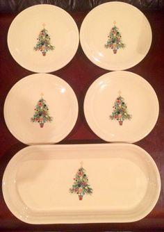 Fiesta® Dinnerware Christmas Tree Covered Casserole Prydes  - Fiesta Christmas Tree Dinnerware