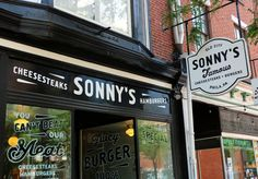 Sonny's Famous Cheesesteaks in Old City.