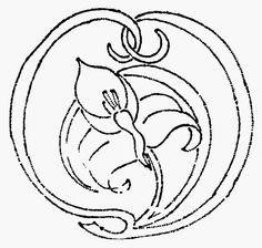 Lyn's Needlecase: Florence Caulfield & Art Nouveau Embroidery