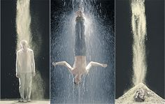 Still images from Bill Viola's 'Martyrs' (2014), for St Paul's Cathedral