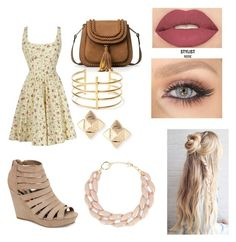"""School"" by olivia-huffer on Polyvore featuring Madden Girl, BauXo, Valentino, DIANA BROUSSARD and Smashbox"