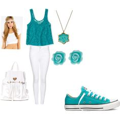 How To Wear Turquoise in the summer Outfit Idea 2017 - Fashion Trends Ready To Wear For Plus Size, Curvy Women Over 20, 30, 40, 50