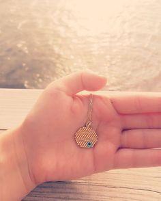"""91 Beğenme, 1 Yorum - Instagram'da Miyuki Jewelry by Ayla Guler (@ayla_miyuki): """"Sunday Peace  design: ayla_miyuki ✌️ #sunday #happysunday #sundaymorning #weekend #happyweekend…"""""""