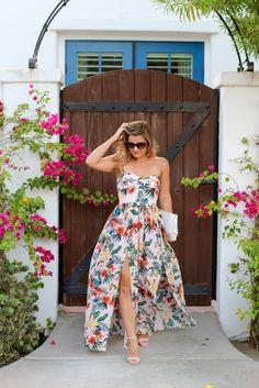 Amanda Uprichard Maxi Dress (now in floral!) - Lake Shore Lady