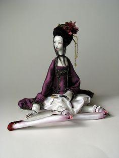 Interpretation of Wu Zetian – empress of china by Tireless Artist, via Flickr