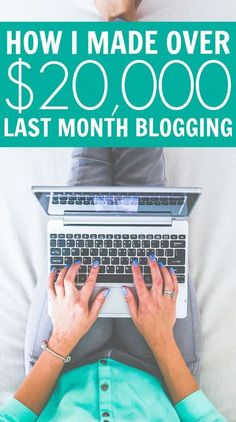 How I Made Over $20,000 Last Month Blogging. Here is May's online income report where I show you how I made money online last month. It's time to look at this month's update and track how I did.