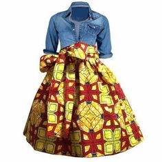 Lisa Circle Midi Skirt