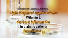 Are you suffering from diabetes? Blog, Vitamin E