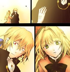 Pandora Hearts Vincent & Ada
