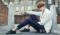 3rd Batch Of Spreads Of Lee Jong Seok & Park Shin Hye From InStyle Korea's April 2015 Issue | Couch Kimchi