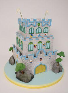 Charm City Cakes | Boy Castle cake