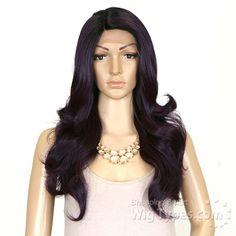 Janet Collection Natural Super Flow Deep Part Lace Wig - PHILA - WigTypes.com