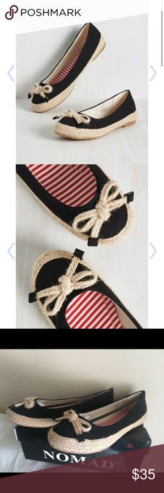 Modcloth Nomad Canvas Flats Women Size 8 Brand new never worn Purchased from modcloth  Women size 8 ModCloth Shoes Espadrilles