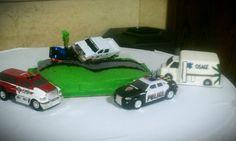 Paramedic groom's cake