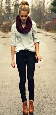 fall outfit - very cute!