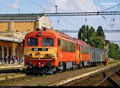 171 Hungarian State Railways (MÁV) 418 at Békéscsaba, Hungary by Sly77
