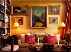 Bunny Williams  Stylish Things: warm walls.