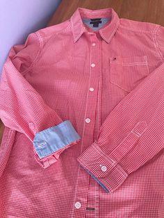 38d0c8551d9 Károvaná košile Tommy Hilfiger pánského střihu