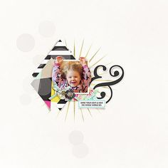 Shine Your Light digital scrapbooking page by 3littleks featuring Shine Bright Kit and Journal Cards by Sahlin Studio