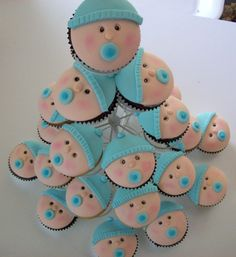 Baby shower cupcakes baby-shower