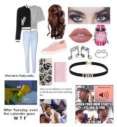 """Teen Hipster Set 90 & 19,000+ Set Views"" by kryhood98 ❤ liked on Polyvore featuring T By Alexander Wang, Glamorous, Moschino, Vans, Lime Crime, Victoria's Secret, Casetify and Givenchy"