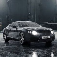 Gorgeous Bentley Continental GT / 80% OFF on Private Jet Flight! www.flightpooling.com #cars #luxury